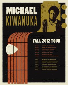 Michael Kiwanuka Poster by Fellowscope on CreativeAllies.com
