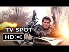 Edge Of Tomorrow TV SPOT - Finish It (2014) - Tom Cruise Sci-Fi Movie HD - YouTube I like the idea of trying, and trying until you get it right...that's why I love the movie groundhog day