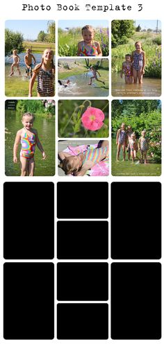 This layout will definitely make my digital scrapbooking much faster. free digital project life photo template