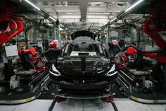 Tesla reportedly plans to restart its California plant as soon as Friday as the state lifts coronavirus restrictions for manufacturers. Tesla Ceo, New Tesla, In China, Volkswagen, Fiat 500e, Friday News, Mp3 Music Downloads, Elon Musk, Autos
