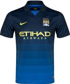 Man City Away Top 2014 2015