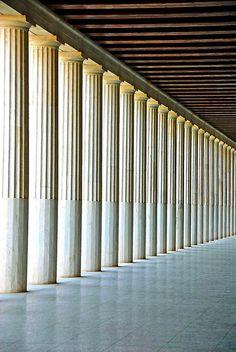 The Stoa of Attalos in the Agora of Athens, Greece @Kitsakis Travel & Tourism Travel & Tourism