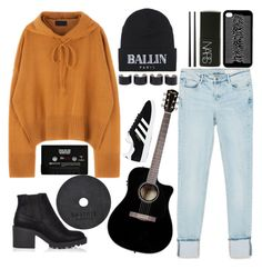 """""""Untitled #250"""" by obrien91 ❤ liked on Polyvore featuring Zara, Brian Lichtenberg, NARS Cosmetics, CASSETTE, adidas, River Island, Christofle and Maison Margiela"""