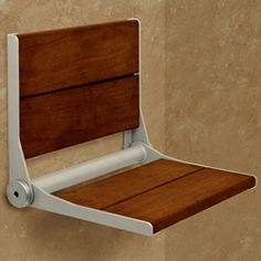 HealthCraft Invisia Collection Serena Seat 26 Inch Fold Away Shower Seat