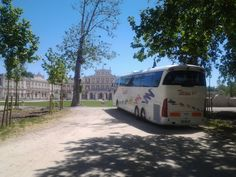 empresas de autobuses - Autobús de excursión en Aranjuez.