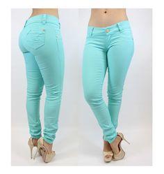 Mint Color!!! Skinny Jean $52.95