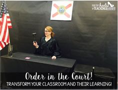 Transform Your Classroom... Classroom to Courtroom! Students must cite their evidence to prove their thinking!