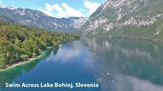 Swim Across Glacial Lake Bohinj, Slovenia