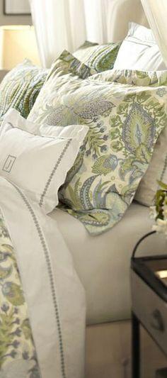 Juliana Floral Organic Bedding #bedrooms