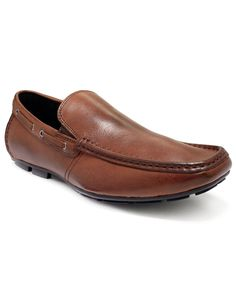 Kenneth Cole Reaction Men's Shoes, Traffic Light Leather Drivers - Driving Shoes - Men - Macy's