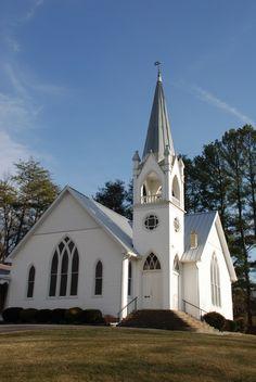Historic UM church, Sevier County, TN