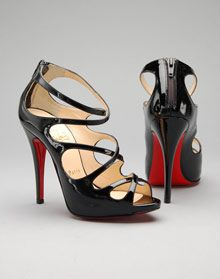 A Christian Louboutin Beauty - and, it also comes in red $995