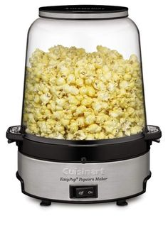 Cuisinart EasyPop Popcorn Maker with Snappy Popcorn. Starting at $1 on Tophatter.com!