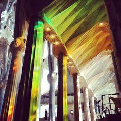 Good Gaudí! Stunning shot of La Sagrada Familia from a recent trip to Barcelona thanks to AFAR Associate Integrated Marketing Manager @Sarah Zapiler
