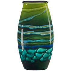 Buy Poole Pottery Maya Manhattan Vase, H36cm Online at johnlewis.com