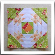 Chatelaine- Free BOW Sampler Quilt Block 70