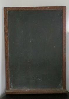 Vintage Litho Slated Blackboard Richmond School by oZdOinGItagaiN, $200.00