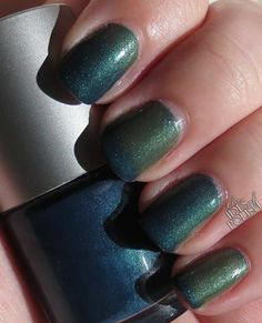 Meditative  Swatch by Kim of The Ides Of Polish