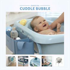 A hora do banho pode ser a hora mais divertida para o seu bebê mas costuma ser o primeiro grande desafio.  Quanto mais confortável o seu bebê está no banho, maior é a garantia da correta higiene.  A Banheira Cuddle Bubble da Chicco é ideal para as mamães que possuem um espaço exclusivo para o banho do bebê.  Por possuir uma estrutura alta facilita o trabalho da mamãe e garante o conforto do bebê.
