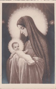 AK Religion + Jungfrau Mutter + Maria Madonna Christkind +