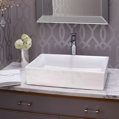 Bathroom Sinks- DXV Luxury Pedestal, Countertop, and Wall-Hung Sinks