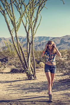Take a walk on the wild side of the desert.