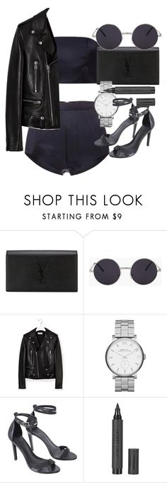 """""""Untitled #4153"""" by olivia-mr ❤ liked on Polyvore featuring Katie Ermilio, Yves Saint Laurent, Marc by Marc Jacobs, TIBI and Topshop"""