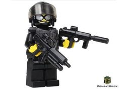 32d6c9c8a611f Amazon.com  Black Ops Trooper - Custom Army Builder Military Minifigure   Toys   Games
