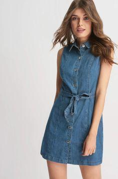 ORSAY JEANS | Denim shirt dress #mywork #fashiondesigner