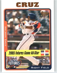 2005 Topps Update 206 Nelson Cruz FUT RC - Milwaukee Brewers (RC - Rookie Card) (Baseball Cards) >>> This is an Amazon Affiliate link. You can find more details by visiting the image link.