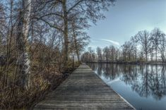 #bridge #forest #hdr #lake #landscape #nature #outdoors #outside #river #sweden #tree #trees