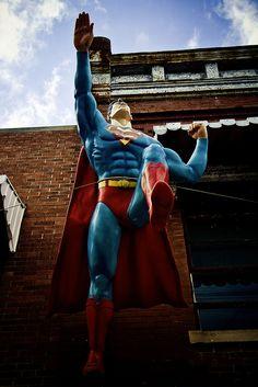 Superman by J Scherr, via Flickr