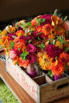 GORGEOUS Bouquets ~ pink & orange