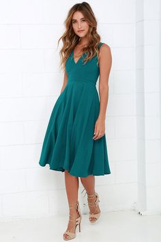 Phi-Style: Bridesmaid Remix - Teal | Best Afternoon dresses and ...