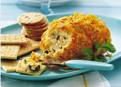 Pepper Jack Cheese Ball...make sure the nacho flavored tortilla chips are gf!