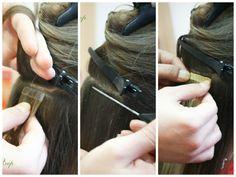 Все виды наращивания волос в салоне Ля Флер