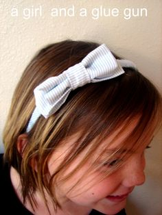A girl and a glue gun: fabric...
