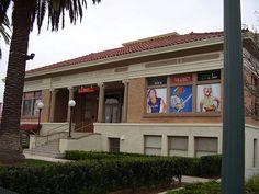1908 Old Anaheim Library, part of MUZEO, Anaheim, California