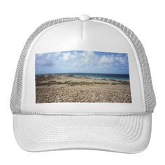 Aruba Rocky Ocean View Mesh Hat    •   This design is available on t-shirts, hats, mugs, buttons, key chains and much more    •   Please check out our others designs and products at www.zazzle.com/zzl_322881145212327*