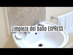Express cleaning of the bathroom. Everything is clean in 6 minutes!
