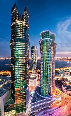 Amazing #Towers #Doha #Qatar
