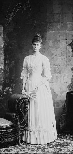 Empress Alexandra Feodorovna (1872-1918) when Princess Alix of Hesse | Royal Collection Trust
