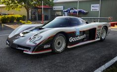 Chevrolet Corvette GTP on Display at the MY Garage Museum - Corvette: Sales, News & Lifestyle Road Race Car, Race Cars, Road Racing, Gt Cars, Indy Cars, Le Mans, Sports Car Racing, Auto Racing, Corvette America