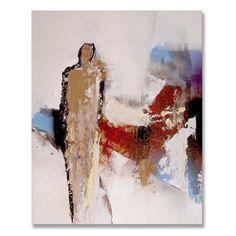Abstract modern schilderij figuratief. Kleurrijke en vrolijke schilderijen met figuren. Betaalbare kunst uit het atelier. Vanaf €99,95. Abstract, Heart, Artwork, Painting, Scrappy Quilts, Pintura, Atelier, Abstract Art, Summary
