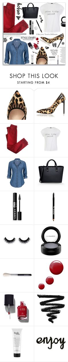 """""""I Like You. You're Different."""" by moomoofan1972 ❤ liked on Polyvore featuring River Island, Comptoir Des Cotonniers, Ally Fashion, Victoria Beckham, LORAC, Lord & Taylor, MAC Cosmetics, Topshop, Chanel and philosophy"""