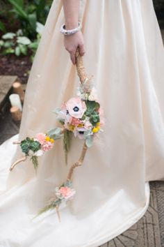 Branch wedding bouquet