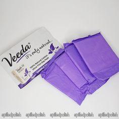 Veeda Natural Cotton Tampons