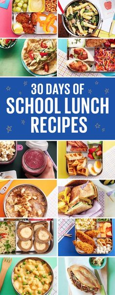 We know packing school lunches can be a total drag, so we've got 30 brand-new ideas to get you through it! #BackToSchool