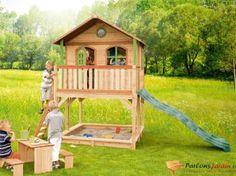 Maisonnette en bois pour enfants Marc