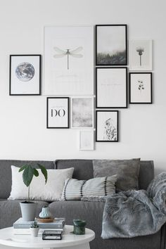 Photo wall living-room a fun modern gallery wall idea. Are you looking for unique and beautiful art photo prints to create your gallery wall... Visit bx3foto.etsy.com